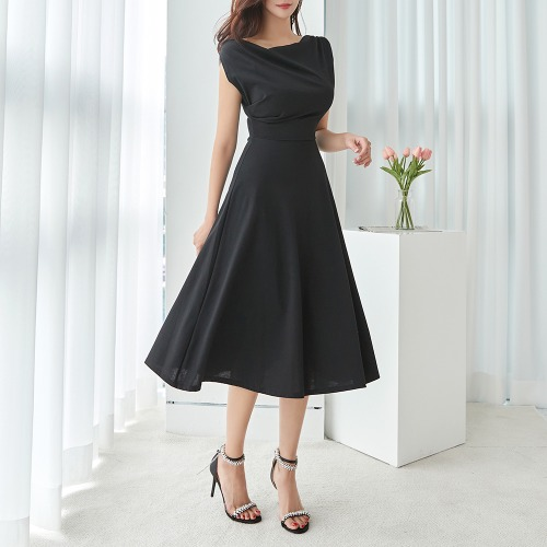 marlangrouge-만디라노셔링롱원피스♡韓國女裝連身裙
