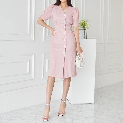 marlangrouge-에버린넨자켓형원피스♡韓國女裝連身裙