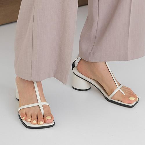 sappun-블로아 스트랩 샌들힐 (6cm)♡韓國女裝鞋
