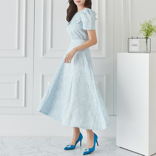 marlangrouge-트윙클롱투피스SET♡韓國女裝連身裙