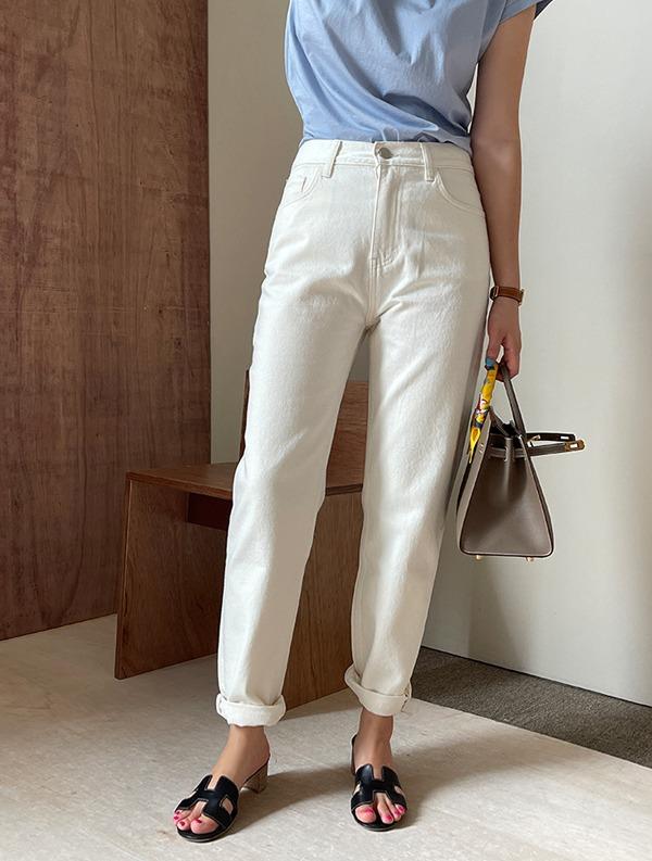 ssumj-프리미엄 특가세일루즈 일자 코튼팬츠♡韓國女裝褲