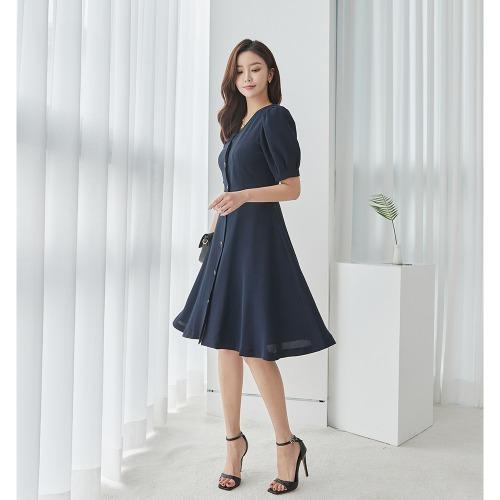 marlangrouge-로아진주자켓형원피스♡韓國女裝連身裙