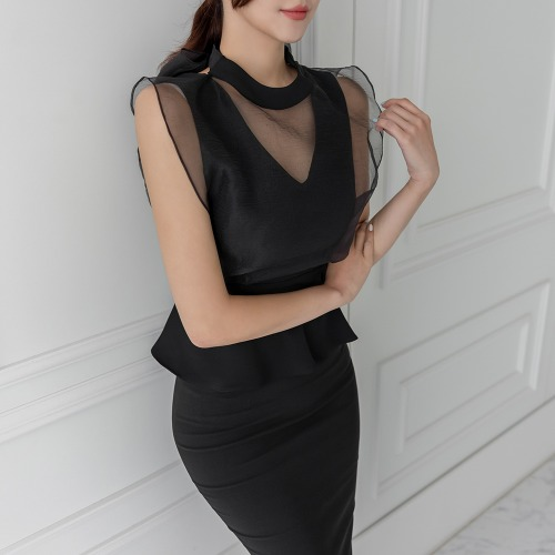 marlangrouge-리쥬플럼블라우스♡韓國女裝上衣