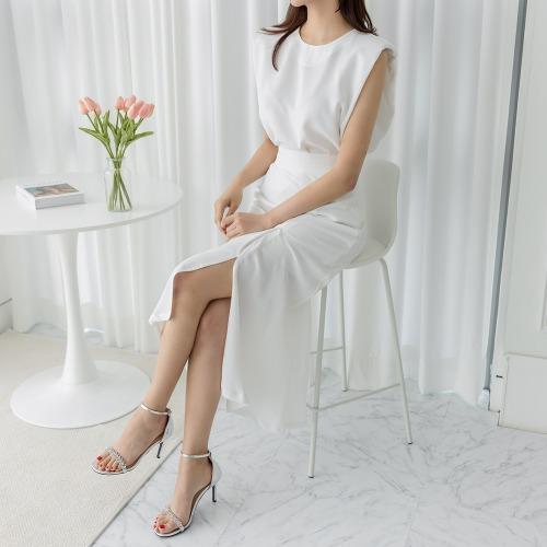 marlangrouge-로지블라우스+팬츠SET♡韓國女裝褲