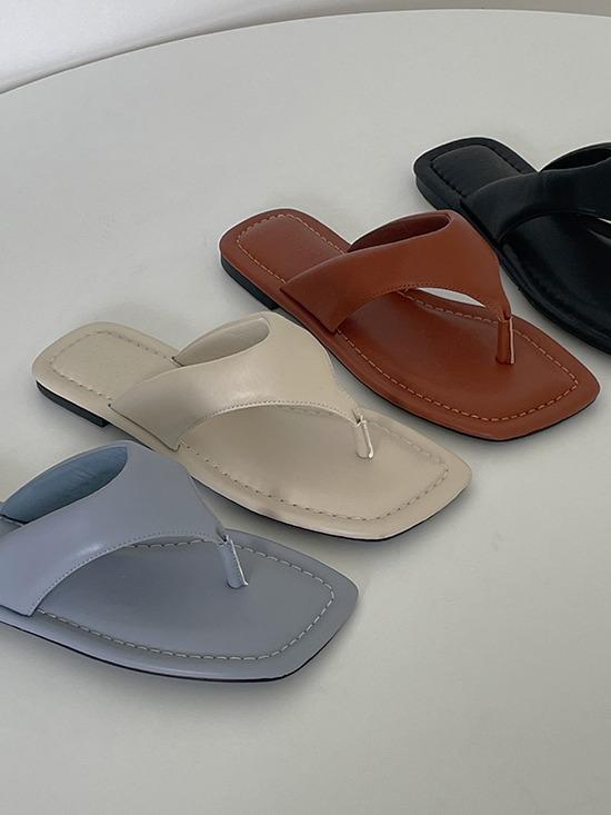 merryaround-휘슬 쿠션 조리 (shoes)(1cm)♡韓國女裝鞋