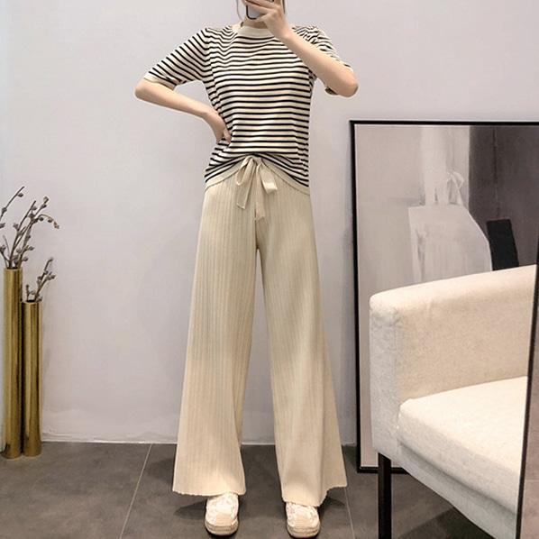 fashion-full-제시 니트 & 팬츠 SET♡韓國女裝套裝