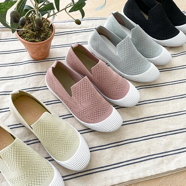 canmart-[쿨링니트슬립온 C070129]♡韓國女裝鞋