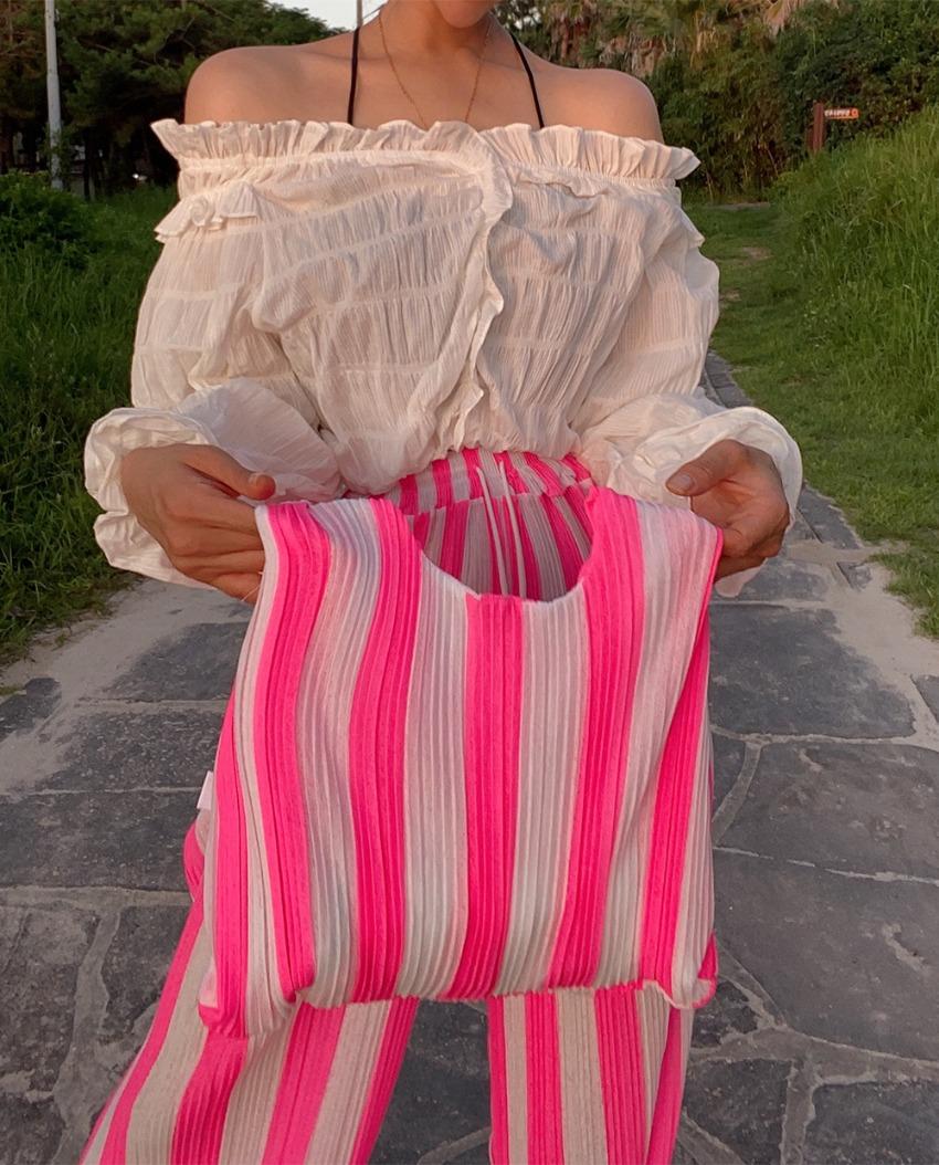 myclassy-loin pleat bag♡韓國女裝袋
