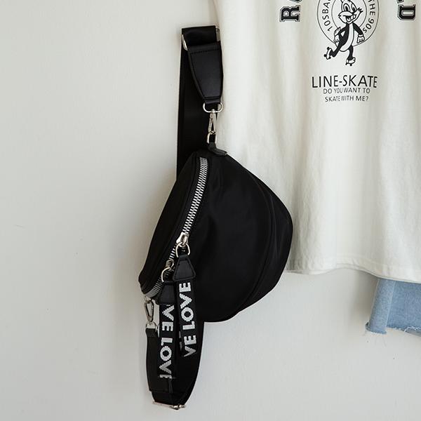 canmart-[레터링크로스백 C071531]♡韓國女裝袋