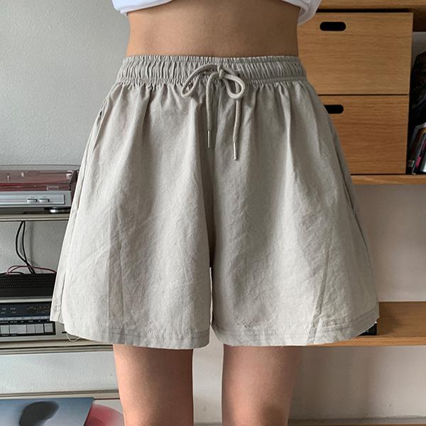 bonzishop-[무료배송]코코 츄리닝 반바지,팬츠 - pt♡韓國女裝褲