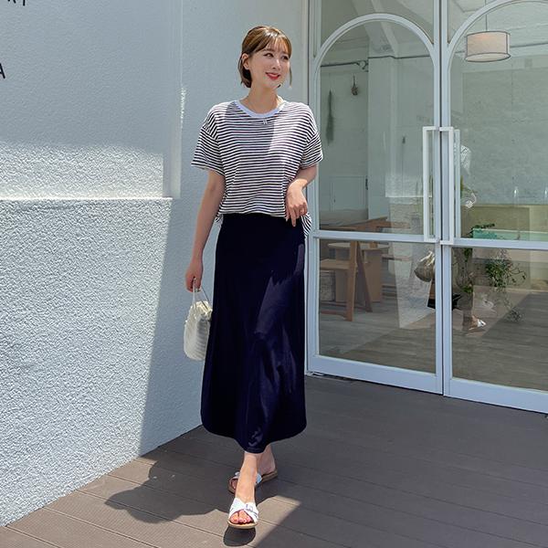 canmart-[빈스줄지치마세트 C071403]♡韓國女裝套裝