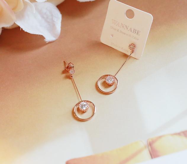 myfiona-달속에별*earring/ac2196 - 러블리 로맨틱 1위 쇼핑몰 피오나♡韓國女裝飾品