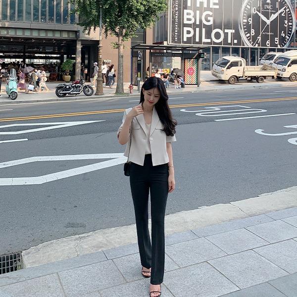 benito-[made] #베니토특가, 라이프 탄탄 슬림 부츠컷 팬츠 신상/베스트/여성/데일리♡韓國女裝褲