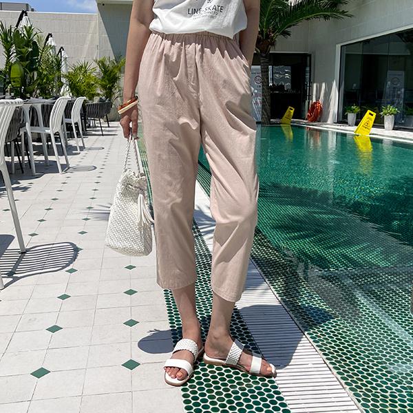 canmart-[썸머배기팬츠 MA07153]♡韓國女裝褲