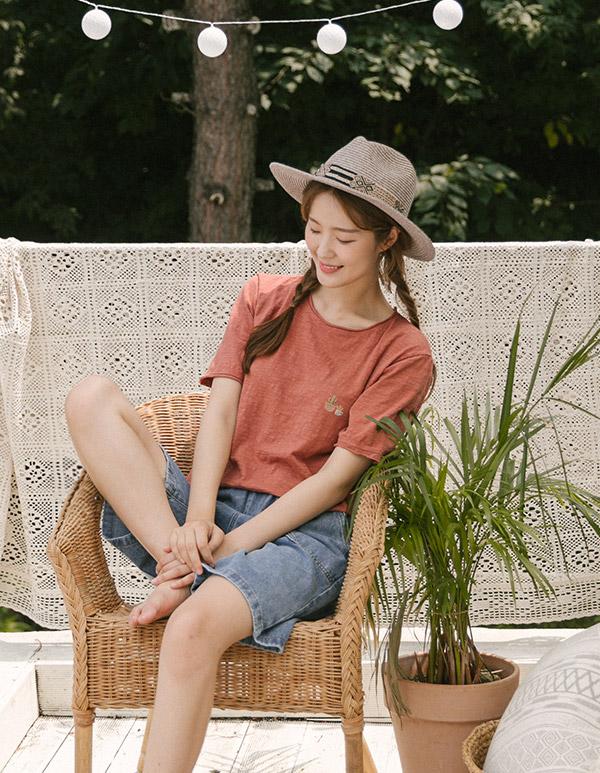 goroke-[베란다 T *5c]♡韓國女裝上衣