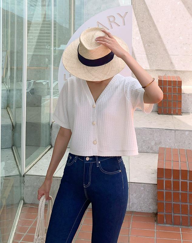 loloten-리버르 숏가디건♡韓國女裝外套