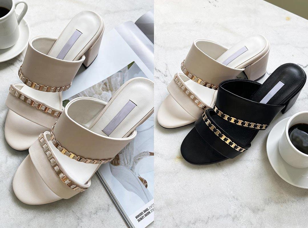 naning9-모테코 샌들힐(C07)♡韓國女裝鞋