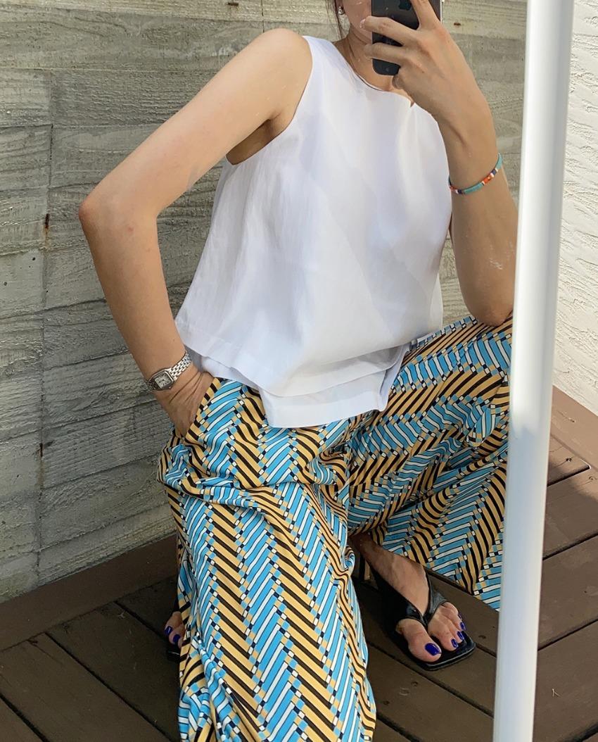 myclassy-double layered sleeveless♡韓國女裝上衣