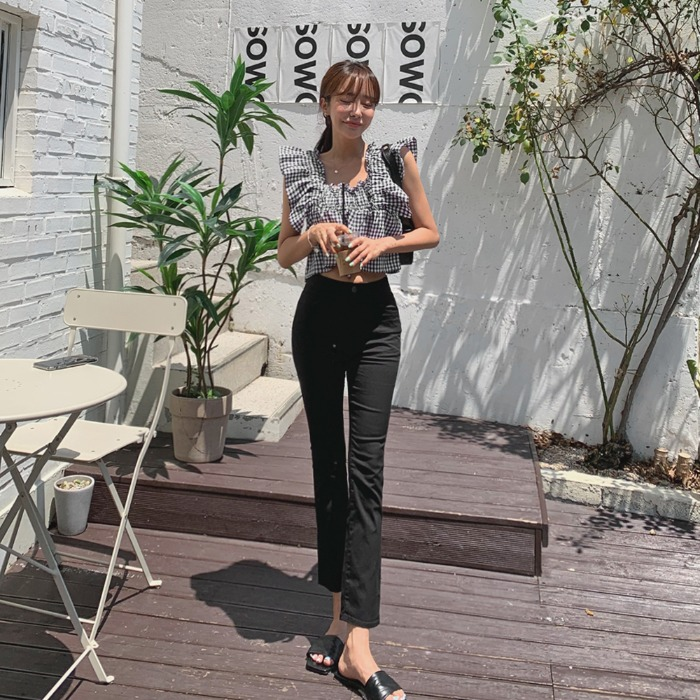 theresheis-하니즈 코튼 팬츠♡韓國女裝褲