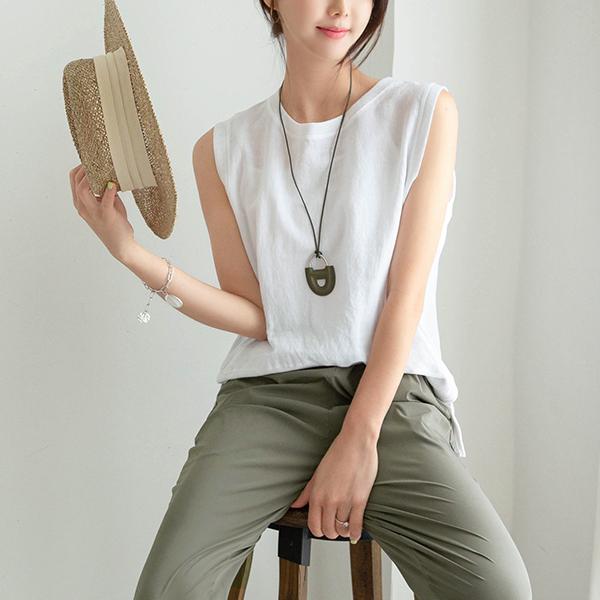 canmart-[모던린넨나시티 C071926]♡韓國女裝上衣