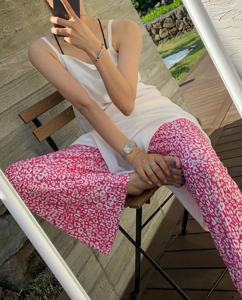 myclassy-Hopi Wrinkle Pants *[pink]♡韓國女裝褲