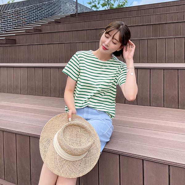 canmart-[퓨어단가라반팔티 C071540]♡韓國女裝上衣