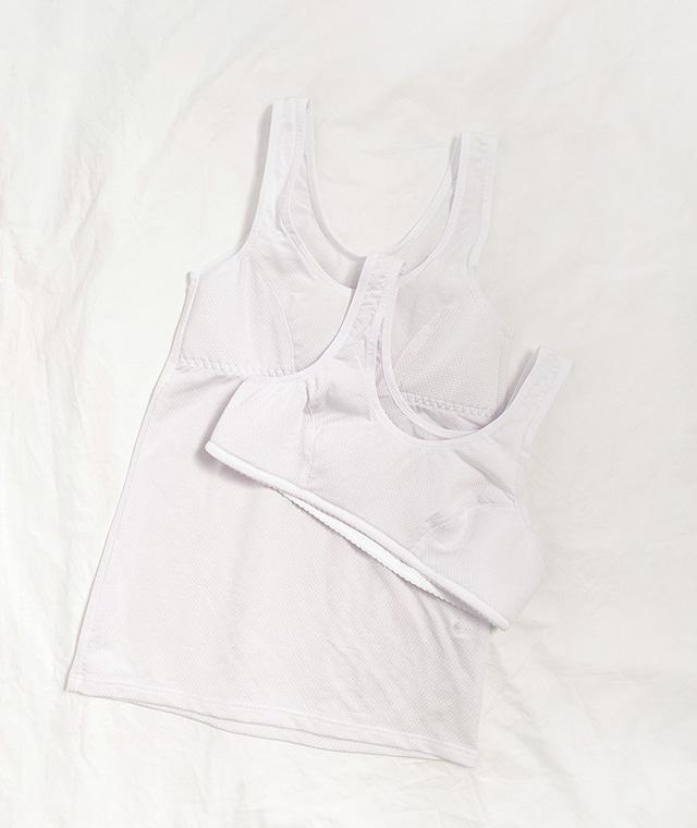 kikiko-[1단계]에어로기본브라나시♡韓國女裝胸圍上衣