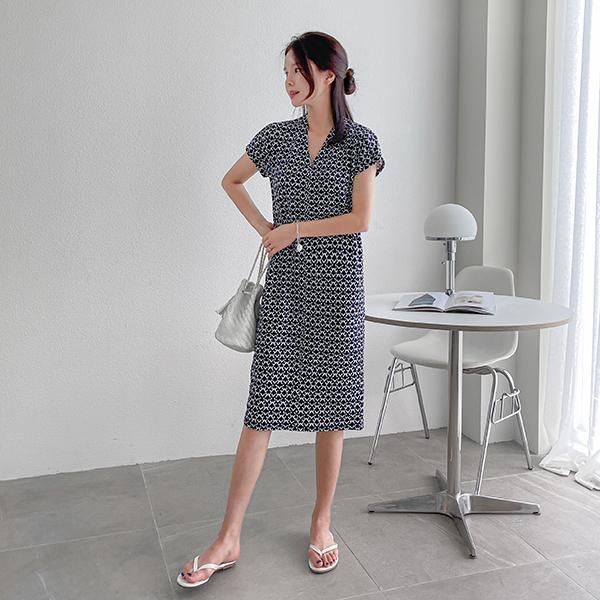 canmart-[쫀쫀패턴원피스 C071932]♡韓國女裝連身裙