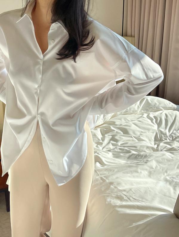 ssumj-[프리미엄 라인]by ssumj. 에센셜 노스팀 셔츠(3col)3일동안만 5000원 할인!1차 바로배송분 오픈♡韓國女裝上衣