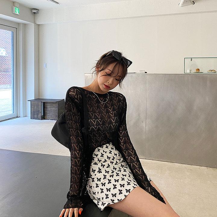 lagirl-네트썸머니트-knit♡韓國女裝上衣