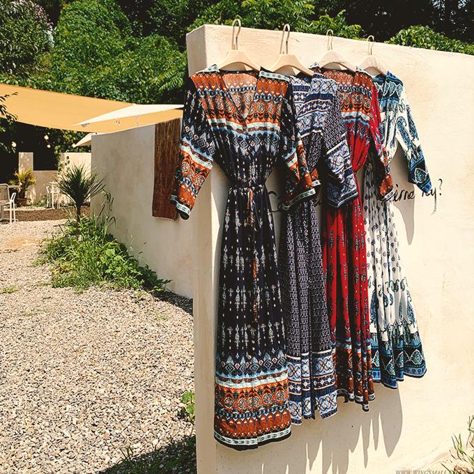 wingsmall-꽃들속에서(썸머에스닉원피스&로브)♡韓國女裝連身裙