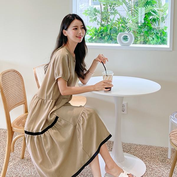 canmart-[라인캉캉원피스 C072103]♡韓國女裝連身裙