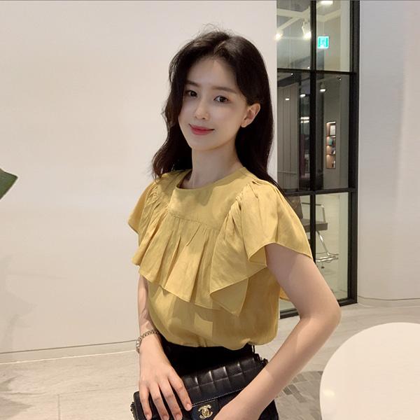benito-[made] 러빈 블라우스 (2color) 쥔장추천 주문폭주 아나운서협찬♡韓國女裝上衣