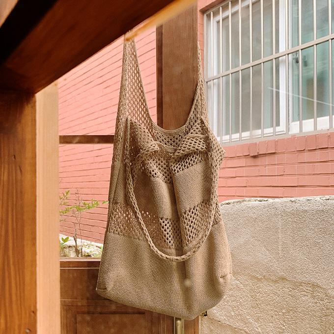 wingsmall-이플리아(뜨개가방)♡韓國女裝袋