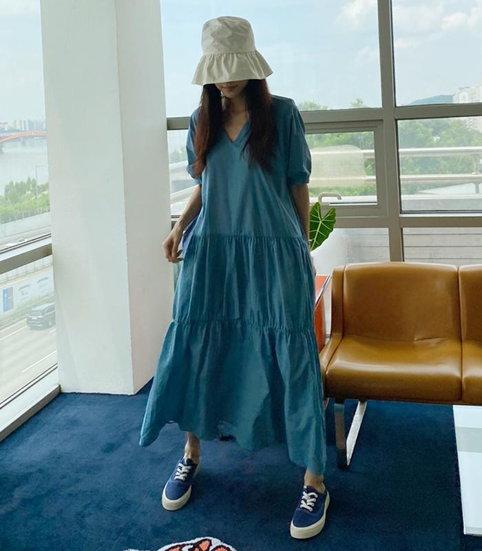 sibuya-[퓨레 ops]♡韓國女裝連身裙