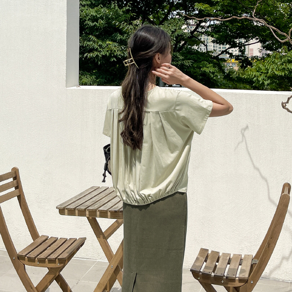 canmart-[루베느주름티 C072111]♡韓國女裝上衣