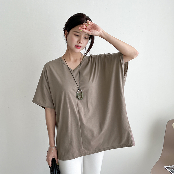 canmart-[롱롱V넥티셔츠 C071924]♡韓國女裝上衣
