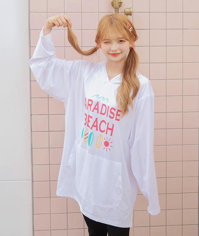 kikiko-파라박시래쉬가드♡韓國女裝上衣