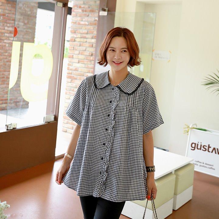 lemite-요즘은 프릴블라우스♡韓國女裝上衣