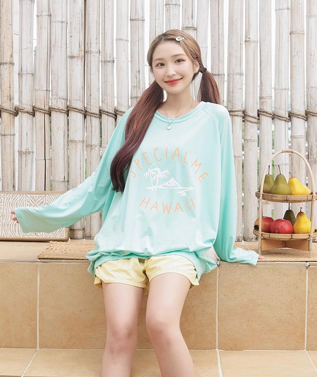 kikiko-야자수박시래쉬♡韓國女裝上衣