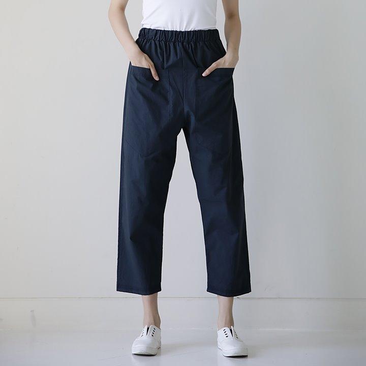 lemite-만능포켓 배기팬츠♡韓國女裝褲