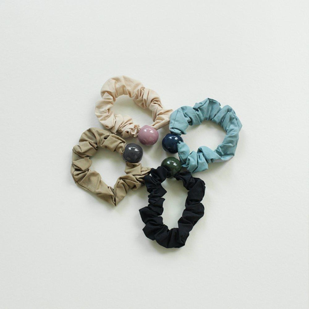 littleblack-써클 스크런치(4C)♡韓國女裝飾品