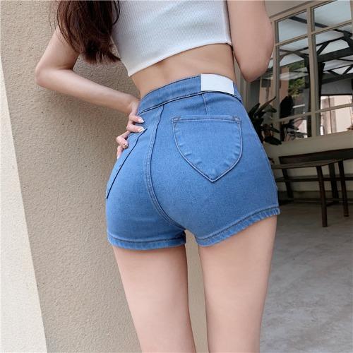 zanne-[핏대박] 인생 데님 숏 핫팬츠 - 잔느♡韓國女裝褲