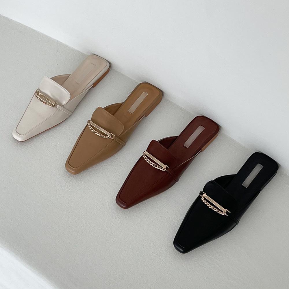 uinme-골드테 블로퍼 - [ 3color ] - 유인미골드테 블로퍼 - [ 3color ] - 유인미♡韓國女裝鞋
