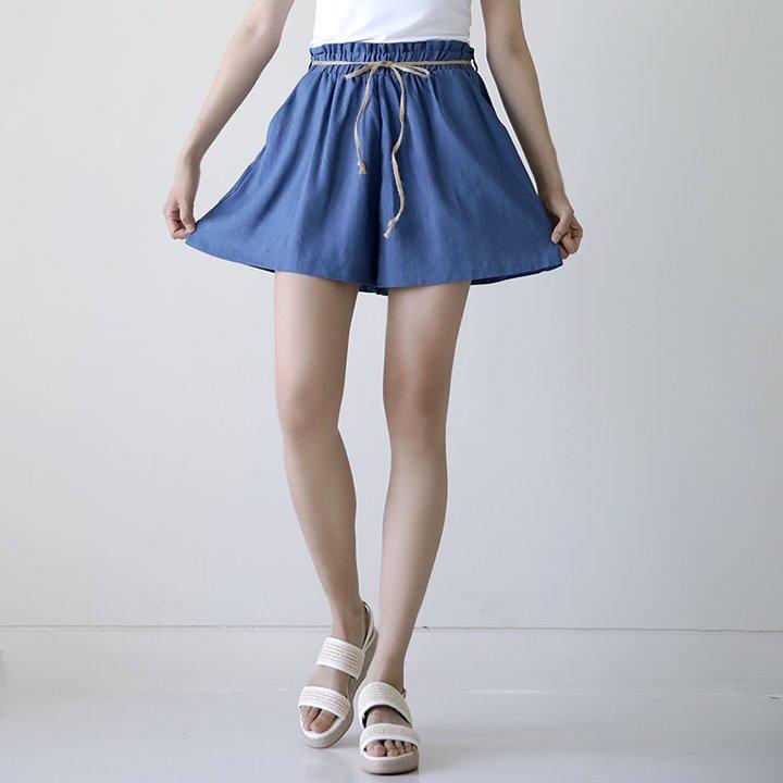 lemite-여름의맛 반바지(끈세트)♡韓國女裝褲