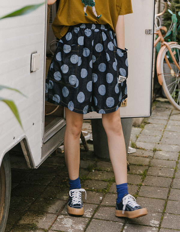 goroke-[왕도트 배기P]♡韓國女裝褲