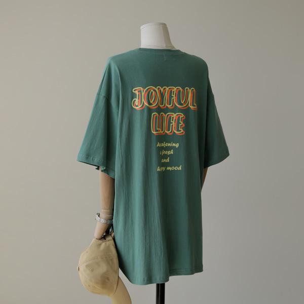 mariangplus-[P] 르아누 반팔 티셔츠 P_T605♡韓國女裝上衣