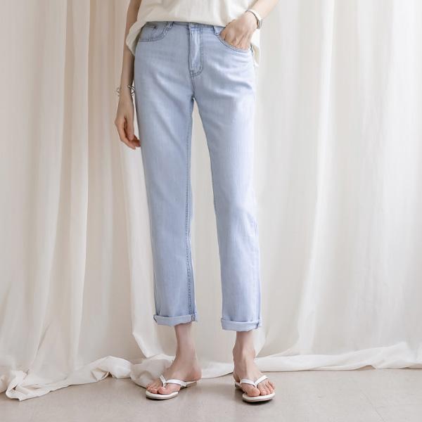 misscandy-[no.20807 일자핏 썸머 데님팬츠]♡韓國女裝褲