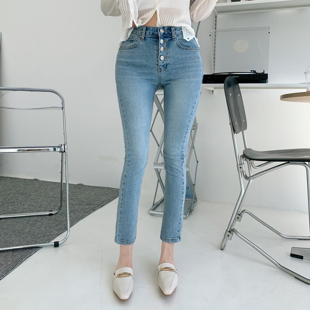 uinme-하이버 스판 데님 - 유인미하이버 스판 데님 - 유인미♡韓國女裝褲