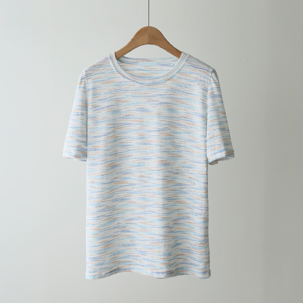 mariangplus-[P] 클로브 반팔 티셔츠 P_T606♡韓國女裝上衣